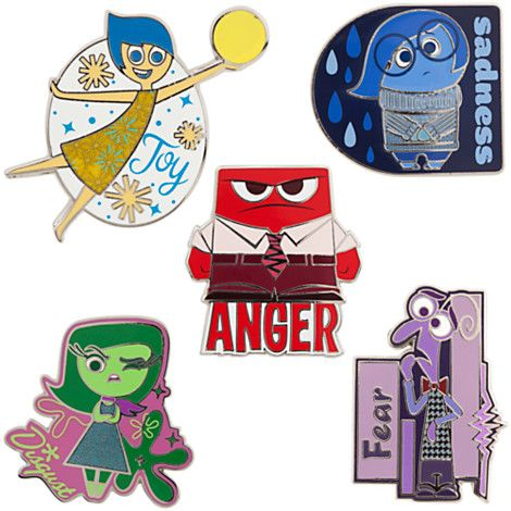 Inside Out Limited Edition Pin Set