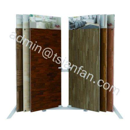 Wds007 Wood Flooring Display Stand Parquet Tiles