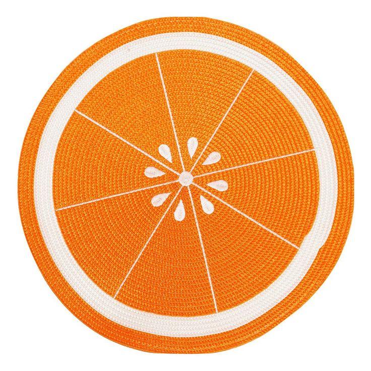Celebrate Summer Together Orange Placemat