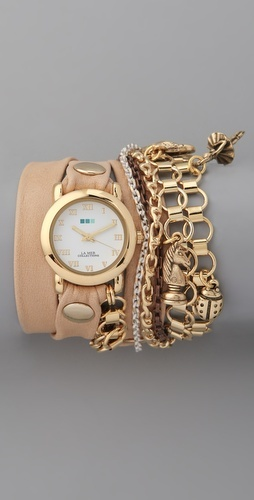 La Mer Collections- Palm Springs Vintage Charms Watch Style