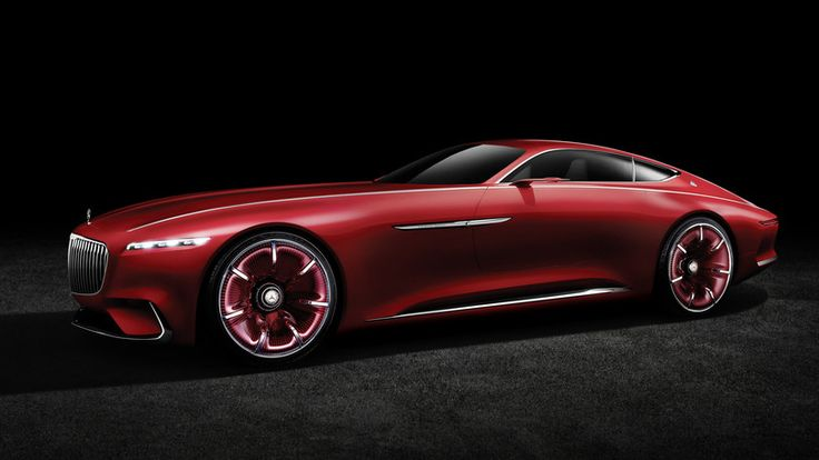 Vision Mercedes-Maybach 6: futuro in salsa rétro - Auto.it