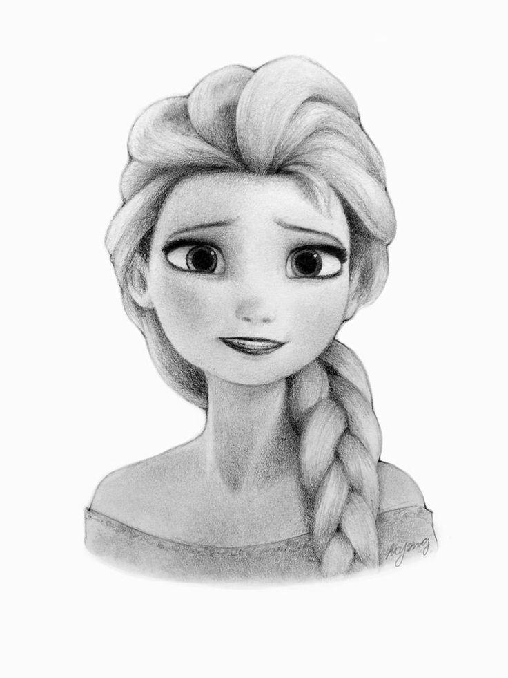 Beautiful Elsa, Art, Elsa Drawing, Elsa Frozen, Disney Amazing, Elsa ...