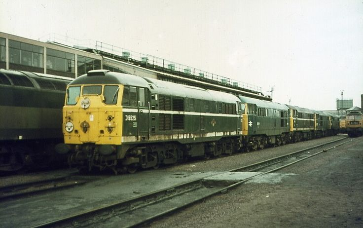 Railway Herald :: Imaging Centre :: D5525 at Stratford Tmd