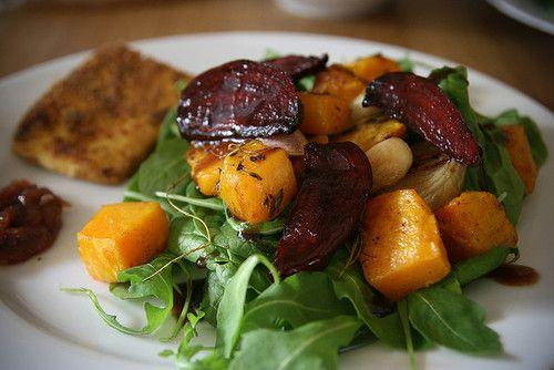 ... Pinterest | Roast Vegetable Salad, Vegetable Salads and Salad Recipes