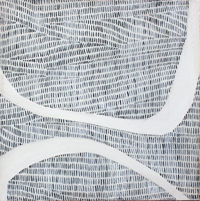 """Loop III"" ~Karine Léger #art #painting #abstract"