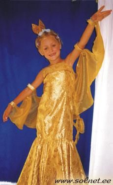 Новогодний костюм для золотой рыбки