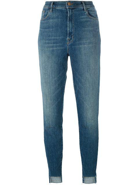 J Brand укороченные джинсы