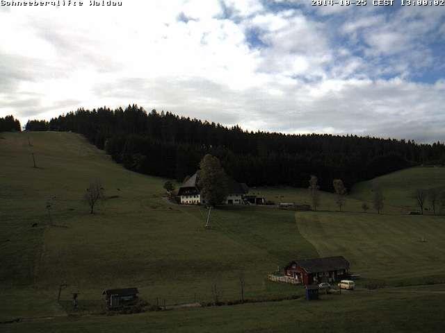 Der Himmel über #Titisee-Neustadt im #Schwarzwald #Wetter