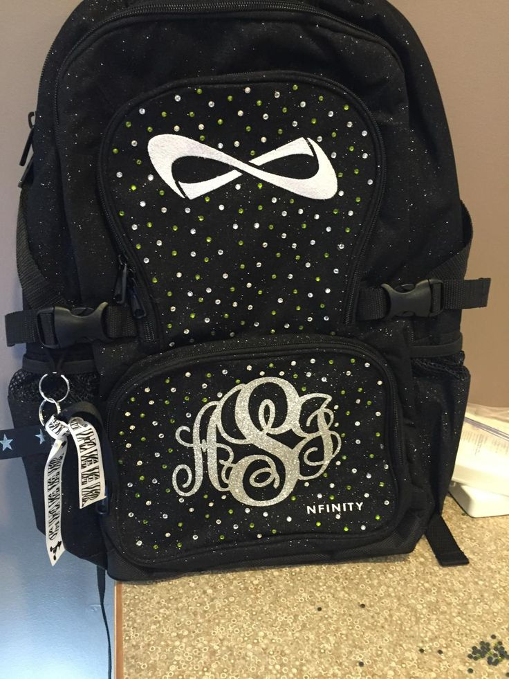 infinity pinterest backpacks other s for nfinity backpack pin the cheerleading shop bag coaching apparel shoes sparkle perfect practice cheer and