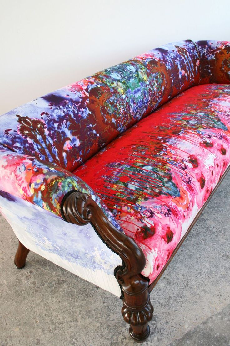 "Timorous Beasties ""Ouch Couch"" -very practical for hiding stains..."