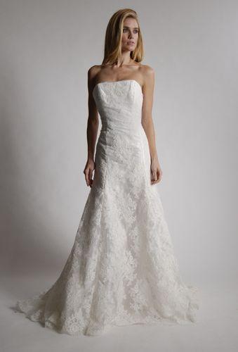 Lovely lace wedding dress 2013 Elizabeth St John Couture- Glamorous, Gorgeous & Green