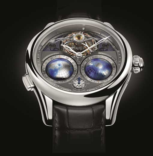Montblanc - Montblanc Tourbillon Cylindrique NightSky Geosphères | New watches | WorldTempus