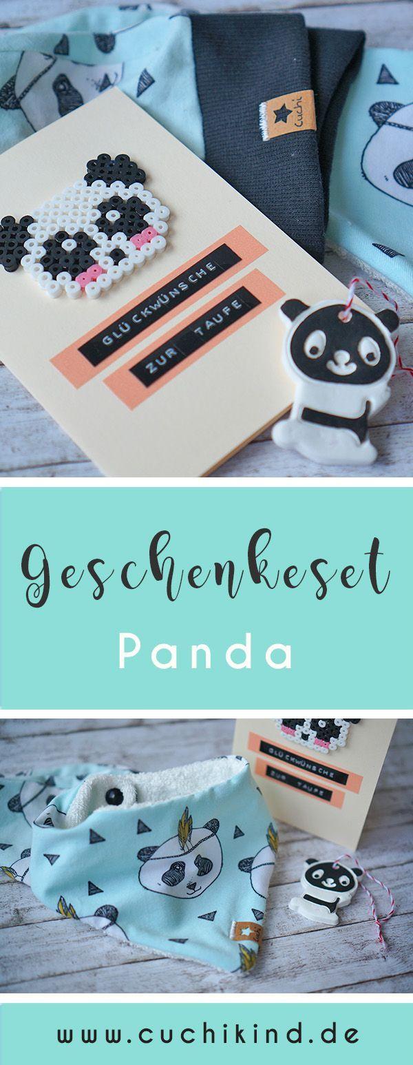DIY-Geschenkeset Panda