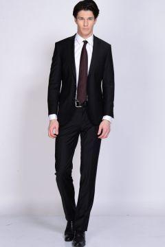 Kip Takım Elbise Erkek Siyah 52