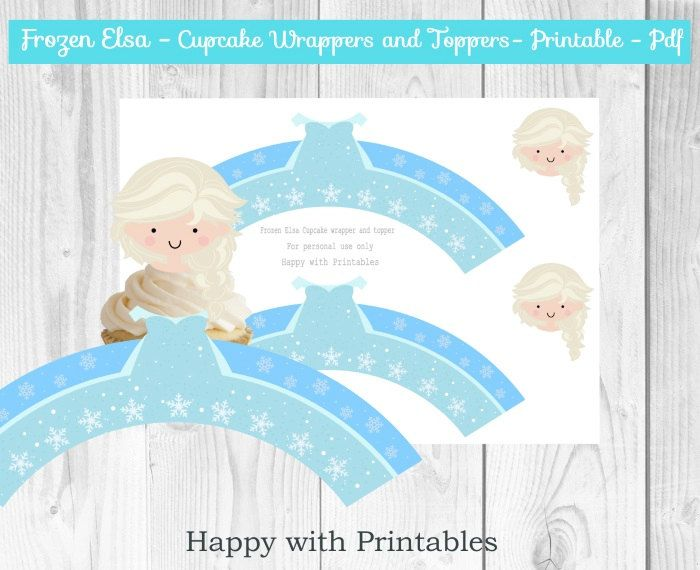 Etsy Frozen Cake Decorations : 1000+ ideas about Frozen Cupcake Toppers on Pinterest ...
