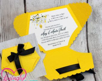 invitations set baby shower invitations bay bee shower bee baby shower