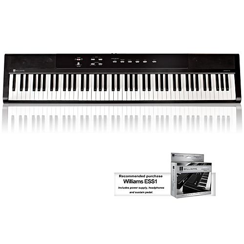Williams Legato 88-Key Digital Piano $199
