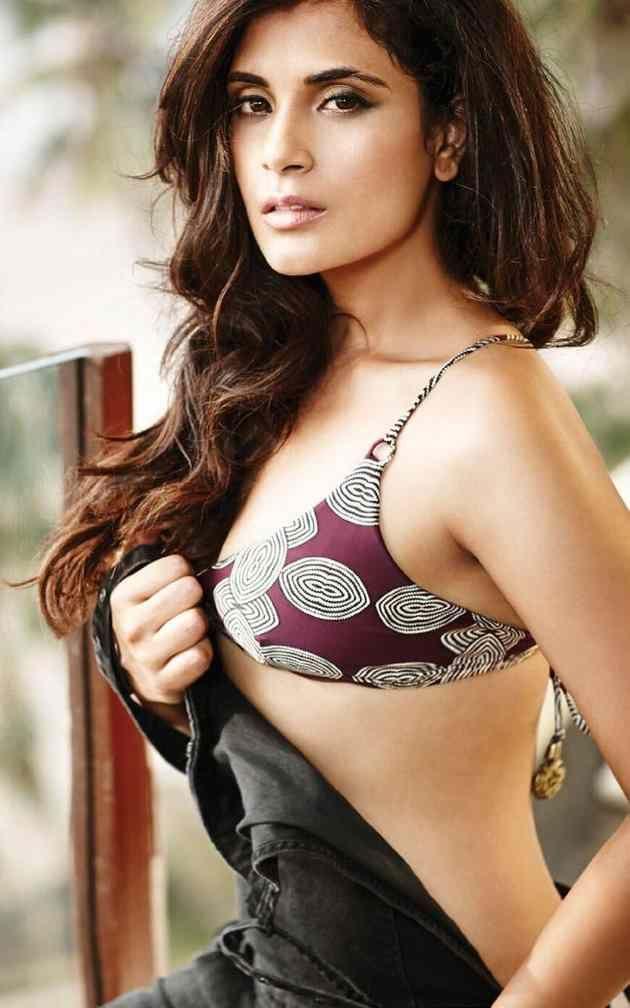 Richa Chadda Hot Bikini Photoshoot Stills