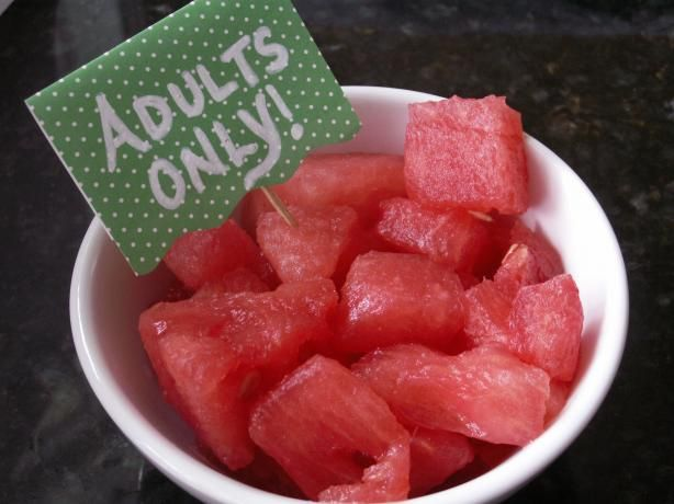 """Spiked Watermelon: """"Sure to make your picnic a LOT more interesting!"""" -Mama's Kitchen (Hope)"""
