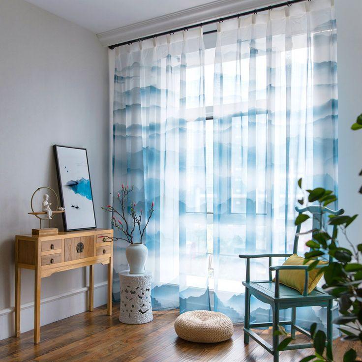 The 25+ best White sheer curtains ideas on Pinterest Window - gardine küche modern