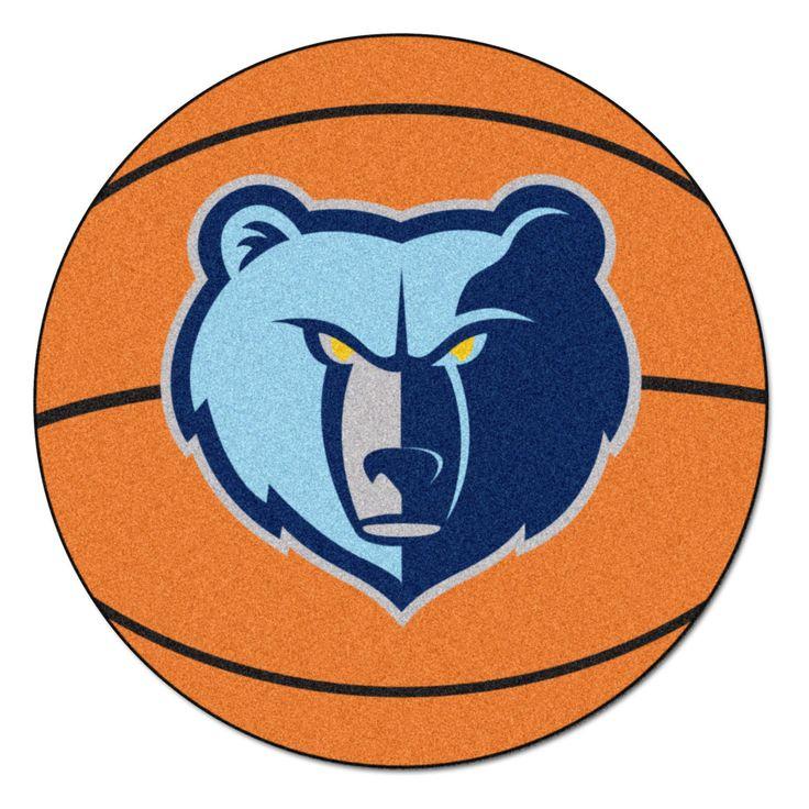 NBA Memphis Grizzlies Basketball Mat 27 Diameter