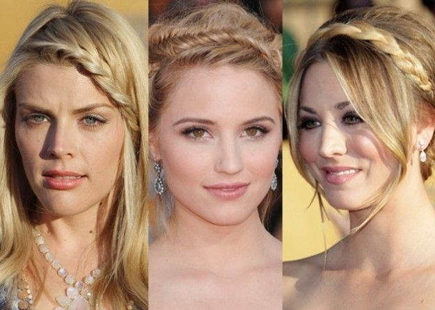PromParty braided hairstyles