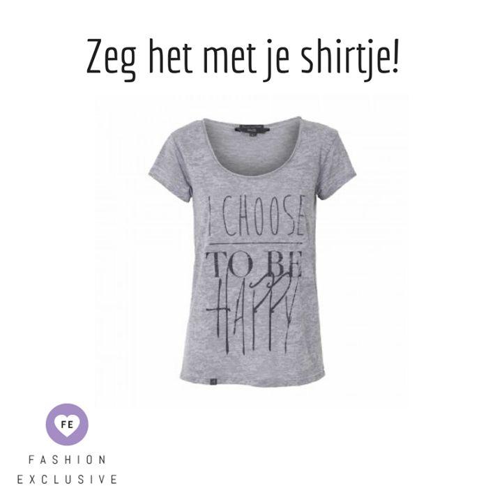 Happy Shirt on Fashion Exclusive > https://www.fashionexclusive.nl/mbym-shirt-dietrich-dacia/
