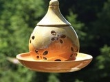 House Bird Feeder Coffee Bean - contemporary - bird feeders - - by The Contemporary Home