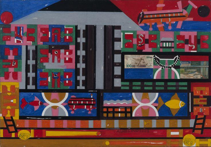 Aurelino dos Santos Sem título , 2009 Acrilica sobre papel 70 x 100 cm