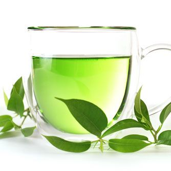 One small cup of green tea is good for anti-aging, enhanced fat-burn, boosting alertness, potent disease prevention, Zero calories, appetite suppressant, speeds up metabolism and has a thermogenic effect, improves insulin sensitivity, reduces stress, promotes relaxation, and boosts immunity. Also has a high fluoride content, rich with flavonoids, polyphenols, and other powerful antioxidants.  Citrus enhances antioxidant absorption, which increases teas' health effects.