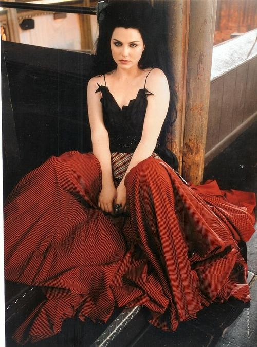 Amy Lee - Evanesence~Love her. Always be someone that I admire and relate too.