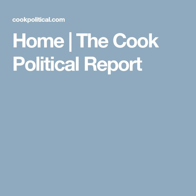 Home | The Cook Political Report