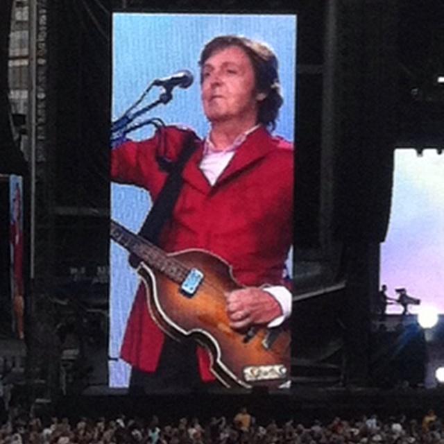 Paul McCartney August 2011 Great American Ball Park, Cincinnati