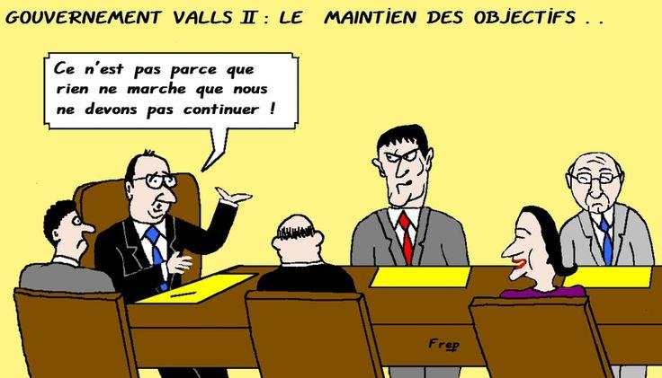 Gouvernement  Valls II :  Vers  quels  objectifs