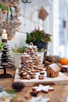 Bratte bakka og grøne lier: Jul