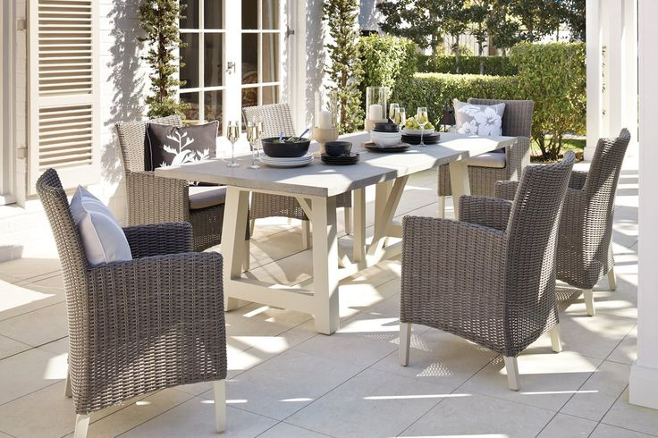 Tonic 7 Piece Outdoor Dining Setting
