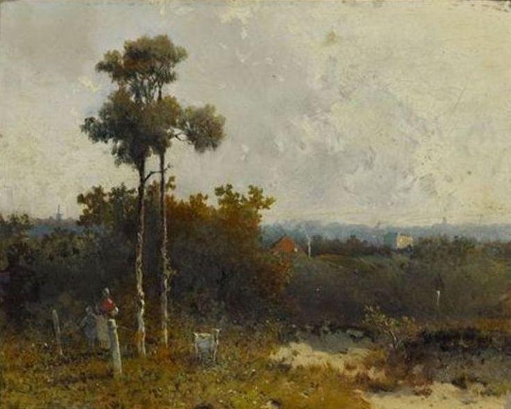 Hendrik Johannes Weissenbruch - Duinlandschap (1854)