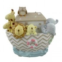 Children's Money Box - Noah's Ark - Available now at Becky and Lolo