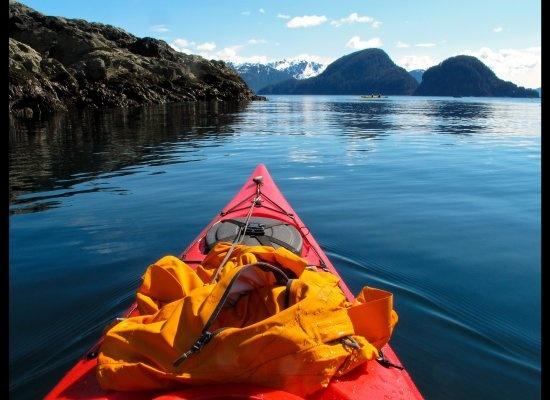 kayaking the Alaskan wilderness
