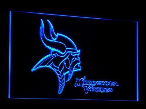 Minnesota Vikings Sign Led Signs Neon Signs Home Man Cave Decor B048-B