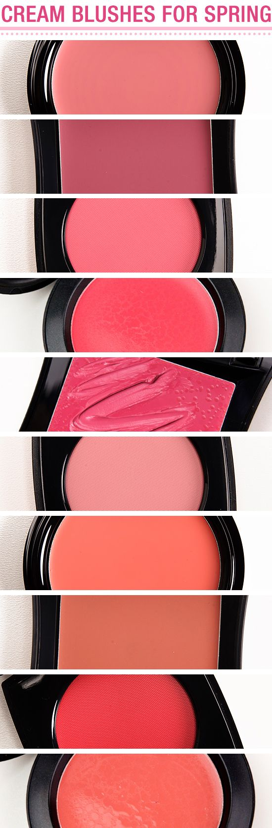 10 Cream Blushes to Try this Spring