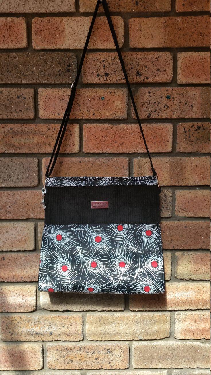 Boutique style handbag, handmade handbag, designer, evening bag, shoulder bag by RazberriCreations on Etsy