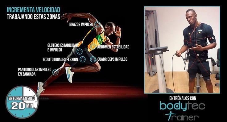 Enhorabuena a Usain Bolt por revalidar el título de campeón mundial de 100 metros. Su lesión en la pierna izquierda le obligó a renunciar a grandes citas y gracias a la utilización del chaleco de electroestimulación en la recuperación de su lesión ha conseguido recuperar toda su fuerza y velocidad en un tiempo record. Si quieres entrenar como los campeones aprovecha hasta el 31 de agosto nuestras ofertas y resérvalo