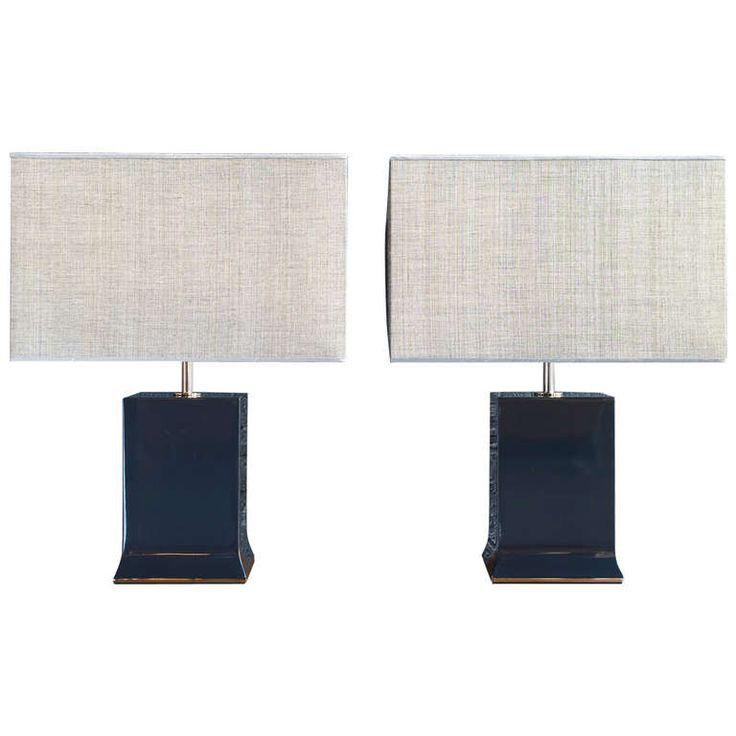 Pair Of Ada Lamps By Armani Casa 1stdibs Com Vintage Table Lamp Lamp Modern Table Lamp