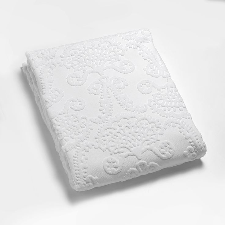 Lennol | MILJA Towel, white (bath and hand towels)