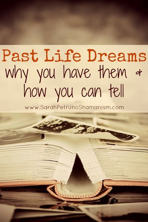 When your dreams feel real, but are from a different time with different characters playing the people in your life . . . it could be a past life. These dreams happen for a reason. Find out how to tell if you had one and what you can learn from them.