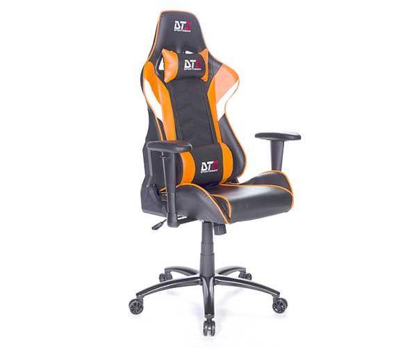 Cadeira Gamer DT3 Sports Elise Preta com Laranja 10636-6  http://mundialcadeiras.com.br/cadeira-gamer-dt3-sports-elise-preta-com-laranja-10636-6