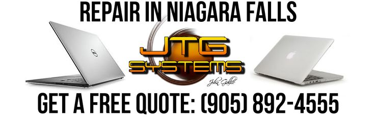 JTG Systems is your #1 for MacBook Pro Repair in Niagara Falls. We specialize in computer repair and Mac / Apple repair, data recovery and Niagara Computer Repair. Call our office at (905) 892-4555 for one of our professional computer repair technicians to help you with your computer, laptop repair, Mac or other computer problem.