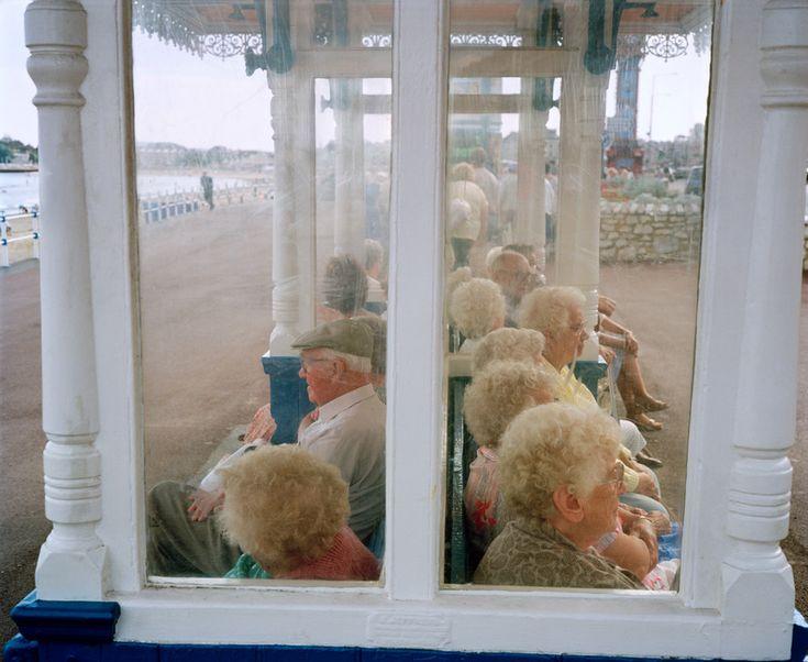 Martin Parr GB. England. Dorset. Weymouth. 1990.