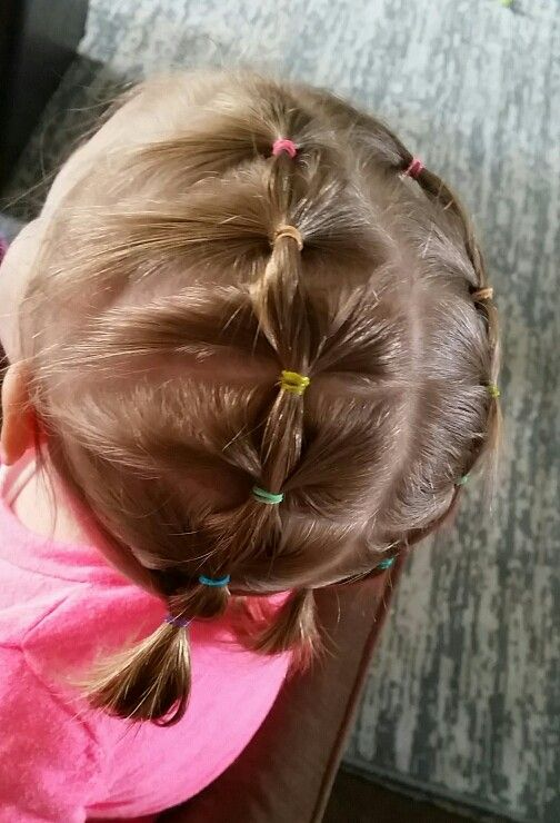 Toddler short hairstyle for girls